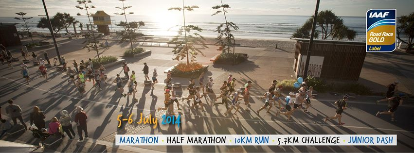 Join in the 2014 Gold Coast Airport Marathon this July 5-6