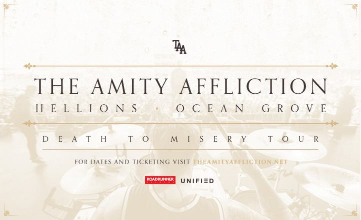 "The Amity Affliction ""Death To Misery"" Tour"